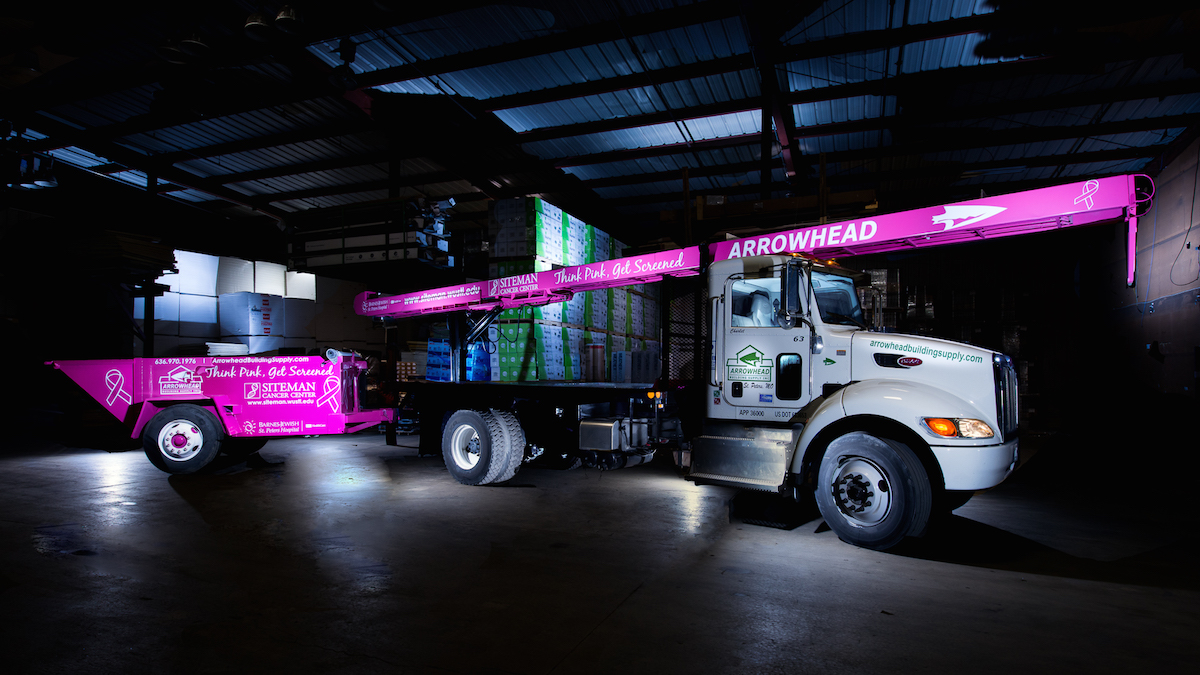 "Arrowhead ""Think Pink"" Campaign"